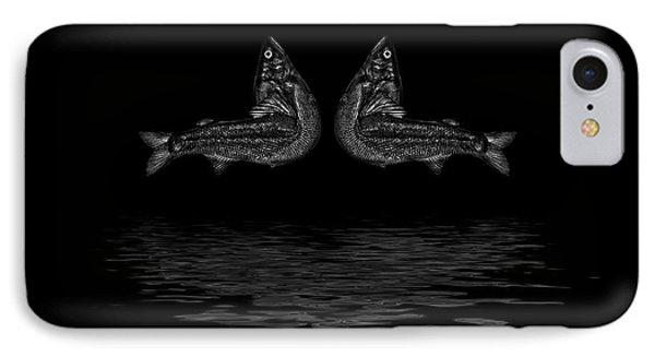 Dancing Fish At Night 2 IPhone Case