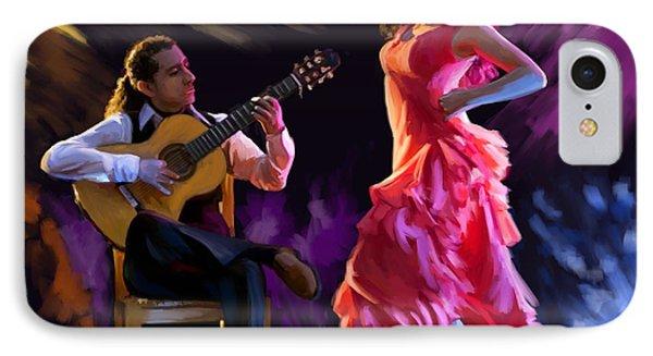 Dancing Gypsy Woman IPhone Case