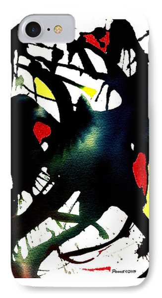 Dancing With The Shadow IPhone Case