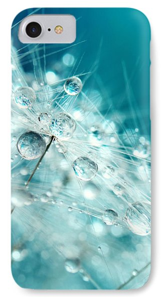 Dandy Starburst In Blue IPhone Case