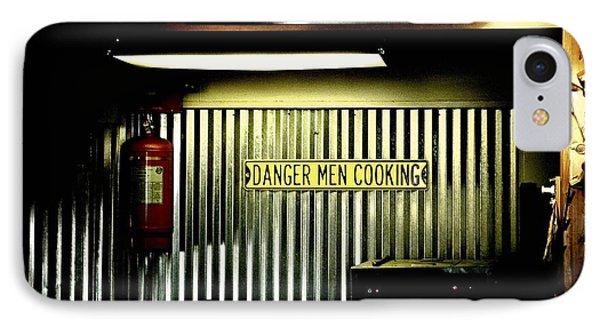Danger Men Cooking IPhone Case