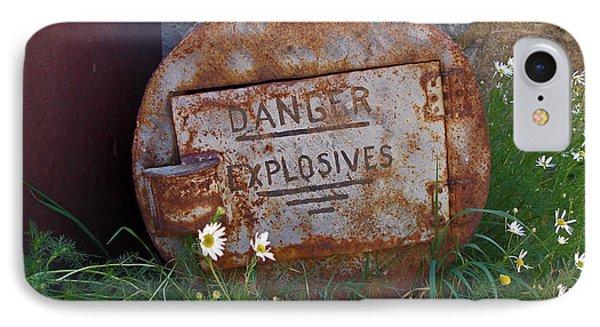 Danger Explosives IPhone Case