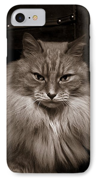 Dark Portrait IPhone Case