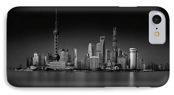 Dark Pudong IPhone Case
