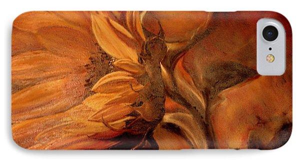 Dark Sunflower IPhone Case