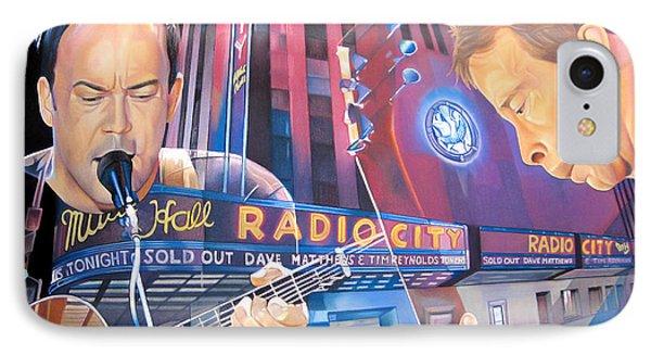 Dave Matthews And Tim Reynolds At Radio City IPhone Case