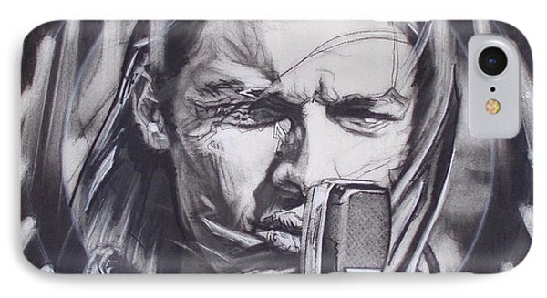 David Gilmour Of Pink Floyd - Echoes IPhone Case