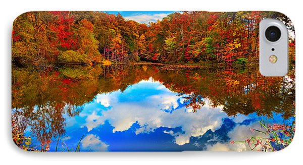 Davis Pond Reflections IPhone Case