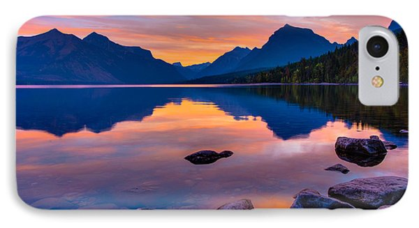 Dawn At Lake Mcdonald IPhone Case
