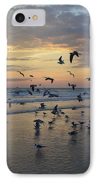 Dawn Gulls IPhone Case