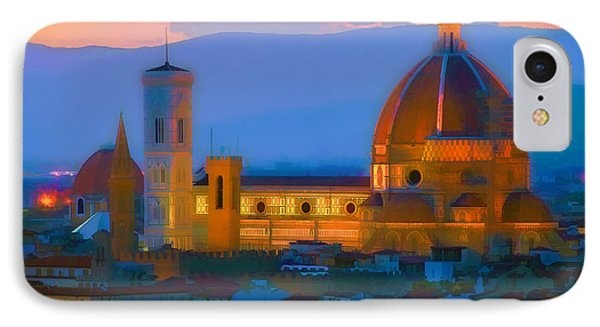 Dawn In Florence IPhone Case
