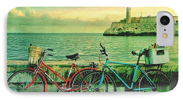 Dawn On The Havana Waterfront IPhone Case