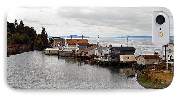 Day Island Bridge View 1 IPhone Case