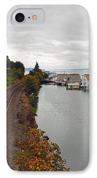 Day Island Bridge View 2 IPhone Case
