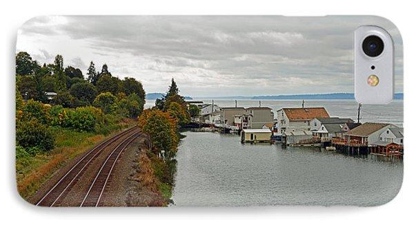 Day Island Bridge View 3 IPhone Case
