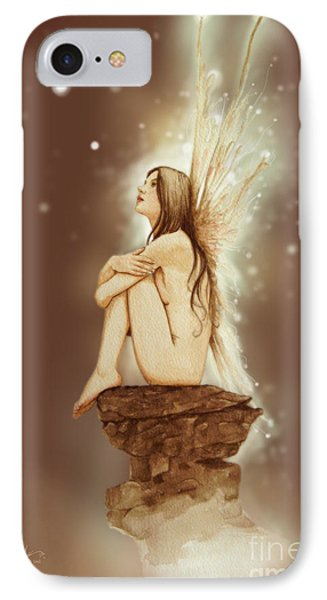 Fantasy iPhone 8 Case - Daydreaming Faerie by John Silver