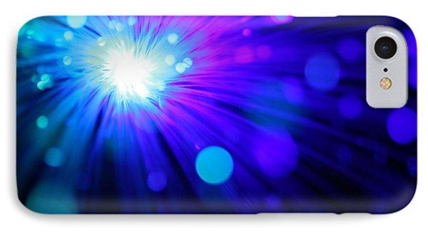 Dazzling Blue IPhone Case