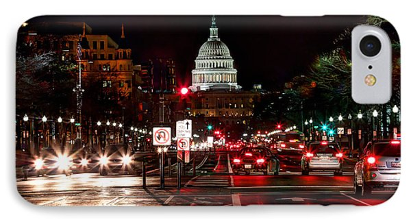 Dc In The Dark IPhone Case