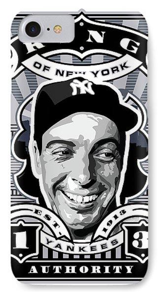 Dcla Joe Dimaggio Kings Of New York Stamp Artwork IPhone Case