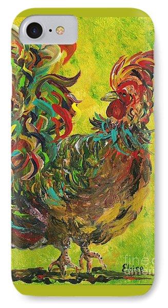 De Colores Rooster #2 IPhone Case