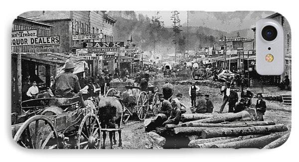 Deadwood South Dakota C. 1876 IPhone Case