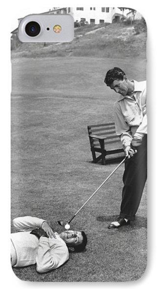 Dean Martin & Jerry Lewis Golf IPhone Case
