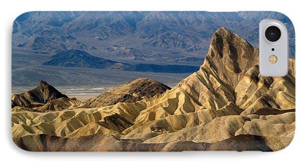 Death Valley Np Zabriskie Point 11 IPhone Case