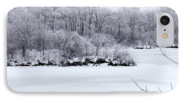 December Lake IPhone Case