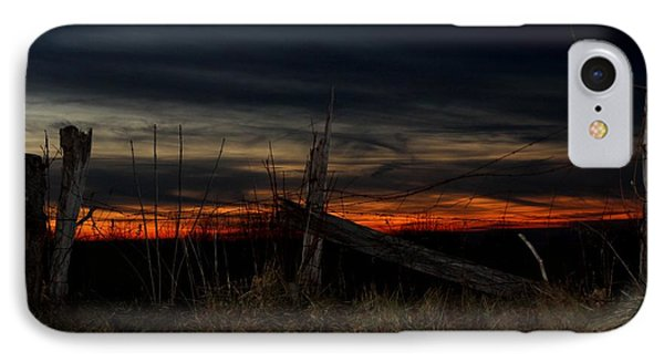 December Sunset On Point Mountain IPhone Case