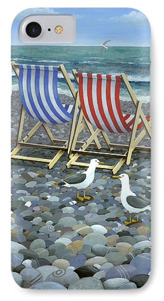 Deck Chairs IPhone Case