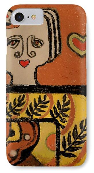 Deco Queen Of Hearts IPhone Case