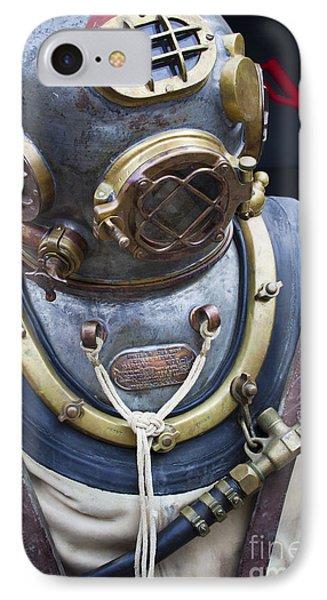 Deep Sea Diving Gear IPhone Case