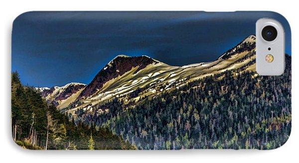 Deer Mountain IPhone Case