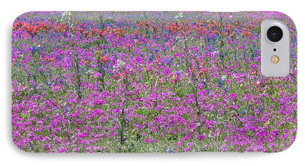 Dense Phlox And Other Wildflowers IPhone Case