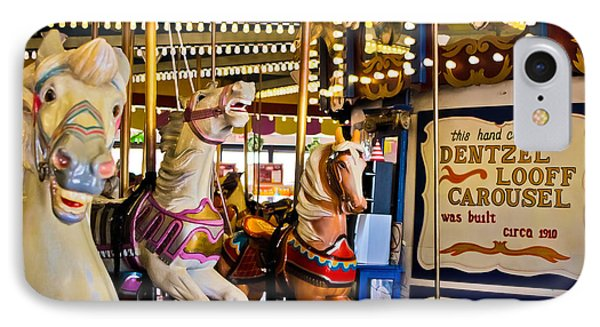 Dentzel Looff Antique Carousel  IPhone Case