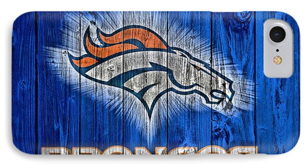 Denver Broncos Barn Door IPhone Case