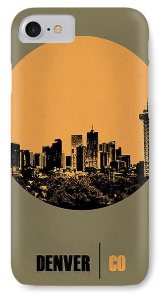 Denver Circle Poster 2 IPhone Case