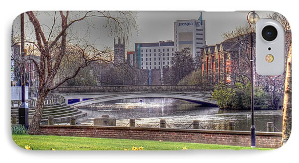 Derby And The River Derwent IPhone Case