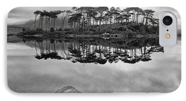 Derryclare In Mono IPhone Case