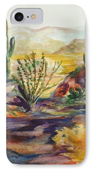 Desert Color IPhone Case