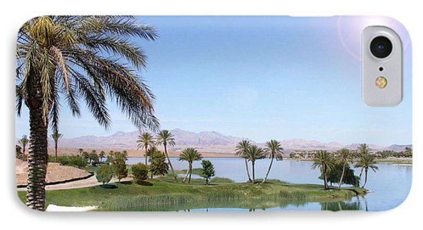 Desert Oasis IPhone Case