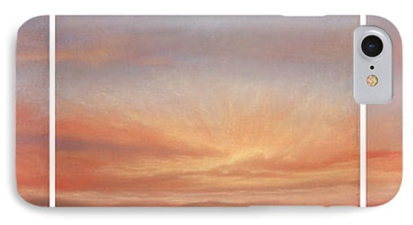 Desert Sky Triptych IPhone Case