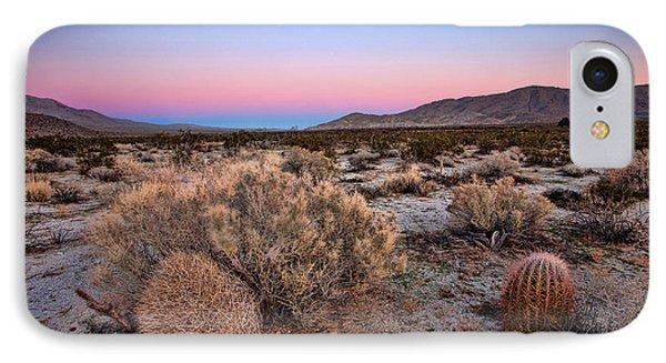 Desert iPhone 8 Case - Desert Twilight by Peter Tellone