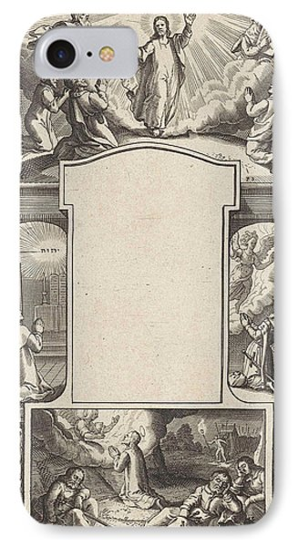 Design For A Title Page, Pieter Serwouters IPhone Case