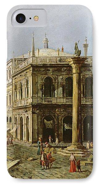Detail Of Palazzo Della Zecca IPhone Case