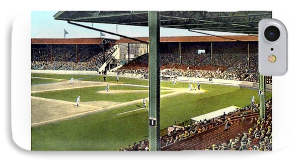 Detroit - Navin Field - Detroit Tigers - Michigan And Trumbull Avenues - 1914 IPhone Case