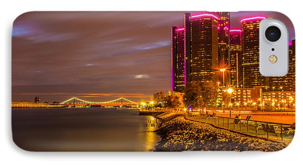Detroit Riverwalk IPhone Case