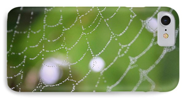 Dew On A Web  IPhone Case