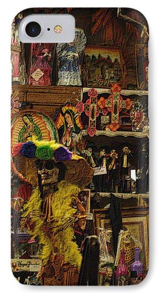 Dia De Muertos Shop IPhone Case