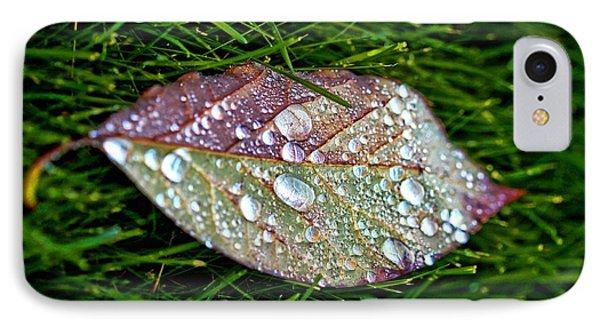 Diamond Leaf Shimmer IPhone Case